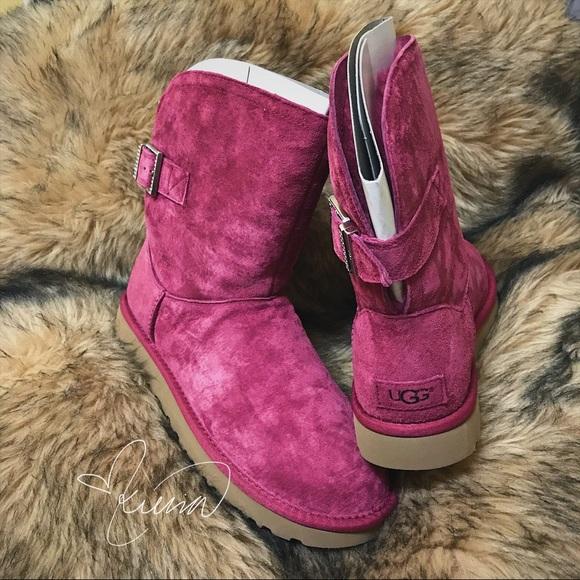 ff06e6d0fd1 Ugg Remora Buckle Boots (sz 9) NWT
